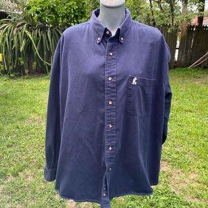 Walt Disney World Long Sleeve Button Up Shirt XL